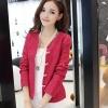 PreOrderไซส์ใหญ่ - เสื้อกันหนาว-เสื้อคลุม ไซส์ใหญ่ คนอ้วน แขนยาว สไตล์สาวทำงาน สี : ดำ / น้ำเงิน / สีแดง