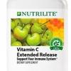 Nutrilite Vitamin C Extended Release วิตามิน ซี 500mg ชนิดละลายช้า ช่วยเพิ่มภูมิต้านทานร่างกาย ป้องกันการเป็นหวัด ผิวพรรณสวยใสขึ้น Amway USA