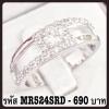 แหวนเพชร CZ รหัส MR524SRD size 52