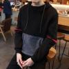 Pre Order เสื้อกันหนาวแขนยาวแนวเกาหลี มีHOOD แต่งกระเป๋า สีตามรูป