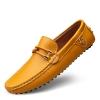 Pre Order รองเท้าหนังใส่สบาย แฟชั่นเกาหลี แต่งลายคาดเชือก พื้นยาง มี4สี