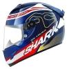 หมวกกันน็อค SHARK Racing Division - Race-R PRO MILES Black Red Yellow