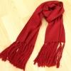 PreOrder - ผ้าพันคอแฟชั่น ขนาด ยาว 57(145cm) กว้าง 12 นิ้ว สี : เทา / แดง