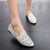 Pre Order - รองเท้าแฟชั่นเกาหลี หุ้มส้น สบาย ๆ สี : สีเงิน / สีชมพู / สีขาว