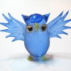 นกฮูกแก้วเป่า Glass Figurine Owl