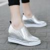 Pre Order รองเท้าแฟชั่นเกาหลี เพิ่มความสูงด้านใน ระบายอากาศได้ดี มี3สี