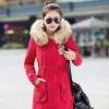 PreOrder - เสื้อกันหนาวแฟชั่นเกาหลี ข้างในเป็นขนสัตว์ มีHood ขนเฟอร์ สี : ดำ / แดง / เขียวทหาร / เขียวอ่อน / น้ำเงิน / ชมพูอ่อน / ส้ม / ชมพูเข้ม