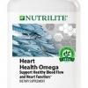 NUTRILITE Heart Health Omega ขนาด 90 เม็ด น้ำมันปลา 1,800 mg ช่วยการไหลเวียนเลือดและการทำงานของหัวใจ โดยเฉพาะ Amway USA