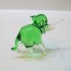 ช้างแก้วเป่า Glass Figurine Elephant