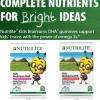 (โฉมใหม่)Nutrilite Kids Brainiums DHA Dietary Supplement อาหารบำรุงและพัฒนาสมองเด็ก ให้ความจำดีขึ้น ฉลาดเก่งสมวัย Amway USA