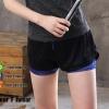 Printed Short ขาสั้นสีดำ/น้ำเงิน ผ้านิ่ม ใส่สบาย มีซับใน ดีไซน์สวย ระบายอากาศได้ดี เนื้อผ้าแห้งเร็ว
