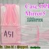 Case oppo Mirror5(A51f)หูกระต่ายสีชมพู