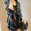 Pre Order - เสื้อคลุมกันหนาวแฟชั่นเกาหลี เสื้อคลุมไหล่เวตเตอร์แขนยาว ลายสวย ๆ