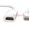 """สาย Mini DisplayPort 3"""" to HDMI Adapter Cable สำหรับ Microsoft Surface PRO /MAC Apple และTablet อื่นๆ"""