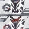 สติกเกอร์ กันรอยถัง+ฝาถัง+แผงคอ Honda CBR250-300