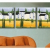 รหัส PH340120009 ภาพระบายสีตามตัวเลข Paint by Number แบบ Home ขนาด40x40cm จำนวน 3 ภาพ/พร้อมส่ง