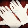 ถุงมือขาวcotton ใช้ทำงานหนัง หนังจะสะอาด กันเปื้อน ซักได้