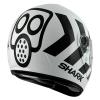 หมวกกันน็อค SHARK Pulse Division - S600-2014 NO PANIC White Black White