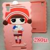 Case OPPO R7Lite ยาง ลายเด็กหมวกแดงสีชมพู