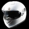 หมวกกันน็อค Bilmola รุ่น Defender (ชิลด์สองชั้น) สีขาว