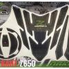 สติกเกอร์ nakedเช็ทกันรอย ถังน้ำมัน+ฝาถัง Kawasaki Z650