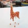 ยีราฟแก้วเป่า Glass Figurine Giraffe