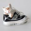 แมวเซรามิค Dollhouse Ceramic Cat in Shoe