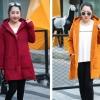 PreOrderคนอ้วน - เสื้อกันหนาว ผ้าฝ้ายโพลิเอสเตอร์ บุหนังสัตว์ สี : ไวน์แดง / ดำ / เหลือง / ม่วง