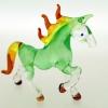 ม้าแก้วเป่า Glass Figurine Horse