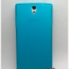 Caseoppo Find 5 mini R827 TPU ฟ้าใส
