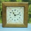 T0682 นาฬิกาแขวนกระเบื้องเยอรมันโบราณ kienzle ส่ง EMS ฟรี