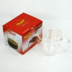 แก้วตวง koffee 8 Oz. Glass Measuring Cup Koffee 8 Oz. 1610-300