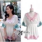 Lady Sweet Pastel Mini Dress