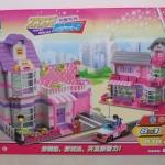 ชุดตัวต่อเสริมพัฒนาการเด็ก Happy Resort 8 in 1