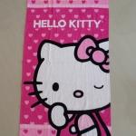 ผ้าเช็ดตัวขนหนูผืนกลาง คิตตี้ kitty#3 ขนาด 125 ซม. * 65 ซม.
