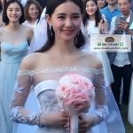 Bridal Shawls ผ้าคลุมไหล่เจ้าสาว ที่หลิวซือซือใส่ในงานแต่งงาน