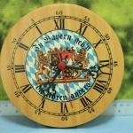 T0668 นาฬิกาแขวนเยอรมันโบราณ ส่ง EMS ฟรี