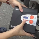 ปั๊มลมอัตโนมัติ แบบดิจิตอล MYCARR - 3 in 1 สูบลมได้เร็ว ถูกว่าห้าง!