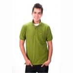 เสื้อโปโล Geeko ตรากวาง สีเขียวไพร
