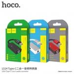 Hoco LS14 ทำให้สามารถแปลงเป็น 3.5 และชาร์จได้ Type C to aux 3.5mm