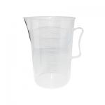 ถ้วยตวงพลาสติก มีหูจับ Plastic Measuring cups 2000 ml. 1610-440