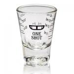 แก้วดีลิซิโอ้ One shot สเกลสีดำ 1610-050