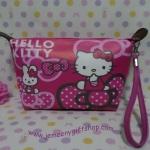 กระเป๋าเครื่องสำอางค์ กระเป๋าเอนกประสงศ์ คิตตี้ kitty ขนาดกว้าง 6 ซม. * ยาว 21 ซม. * สูง 12 ซม.