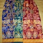 กระโปรงเอวยางยืด ยาว 40 นิ้ว Elastic Skirt Thai Sarong