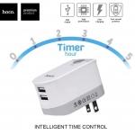 Hoco C16 Time Control Adapter ที่ชาร์จตั้งเวลาปิดได้