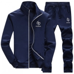 Pre Order ชุดวอร์มเกาหลี สุดเท่ห์ เสื้อแขนยาวคอปก+กางเกงขายาว มี3สี