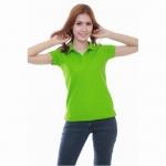 เสื้อโปโล Geeko ตรากวาง สีเขียวใบไม้