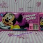 กล่องดินสอแม่เหล็ก มินนี่เม้าส์ Minnie mouse มีกบเหลาในตัว