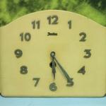 T0681 นาฬิกาแขวนไขลานเยอรมันโบราณ Junghans ส่ง EMS ฟรี