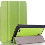 (สีเขียว พร้อมส่ง ส่งฟรี Kerry) เคส LG G Pad 8.0 V480 V490 Tablet (Smart Folio Stand Triangle PU Leather Cover Case) ตรงรุ่น